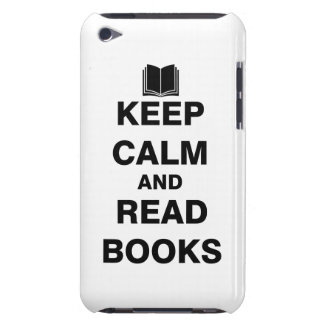 Keep Calm and Read Books iPod Touch Case