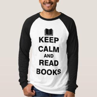 Keep Calm and Read Books T-Shirt