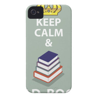 Keep Calm and Read Books vector iPhone 4 Case-Mate Cases