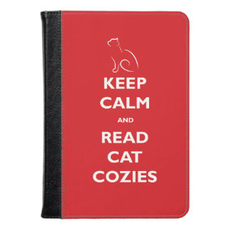 Keep Calm and Read Cat Cozies Kindle Cover