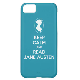 Keep Calm and Read Jane Austen cameo silhouette iPhone 5C Cover