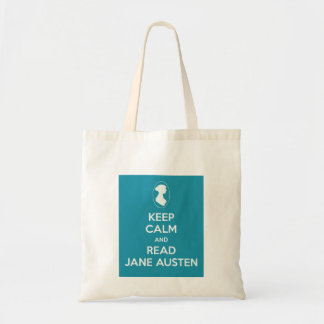 Keep Calm and Read Jane Austen Shopping Bag