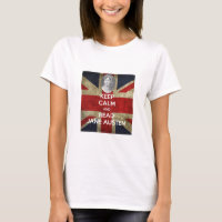 Keep Calm and Read Jane Austen T-Shirt