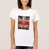 Keep Calm and Read Jane Austen T-Shirt