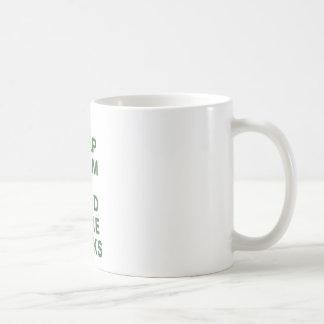 Keep Calm and Read More Books Classic White Coffee Mug
