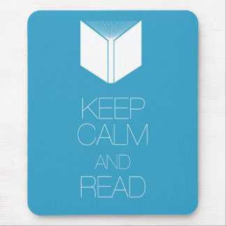 Keep Calm and Read Mouse Pads