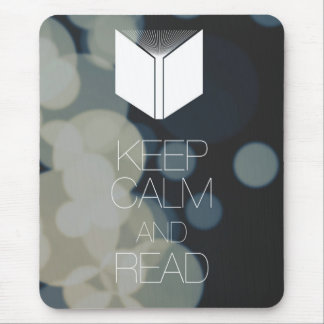 Keep Calm and Read Mousepads