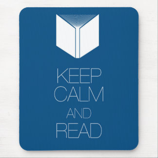 Keep Calm and Read Mouse Pad