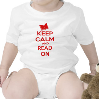 Keep Calm and Read On Bodysuit