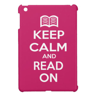 Keep Calm and Read On Cover For The iPad Mini