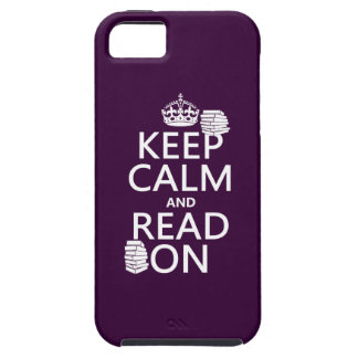 Keep Calm and Read On (in any color) iPhone SE/5/5s Case