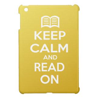 Keep Calm and Read On iPad Mini Case