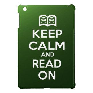 Keep Calm and Read On iPad Mini Cover