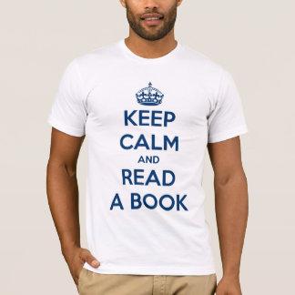 Keep Calm and Read T-Shirt