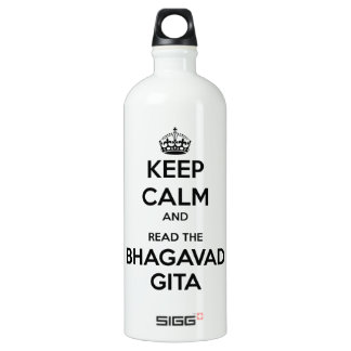 Keep Calm and Read the Bhagavad Gita SIGG Traveler 1.0L Water Bottle