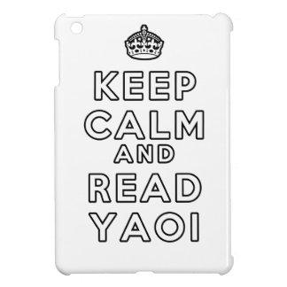 Keep Calm and Read Yaoi iPad Mini Cases