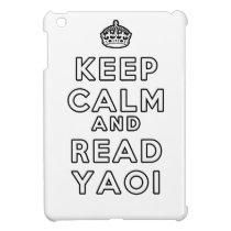 Keep Calm and Read Yaoi iPad Mini Cover