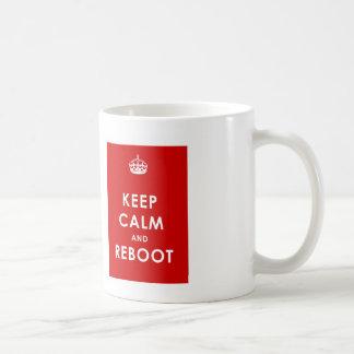 KEEP CALM AND REBOOT MUG