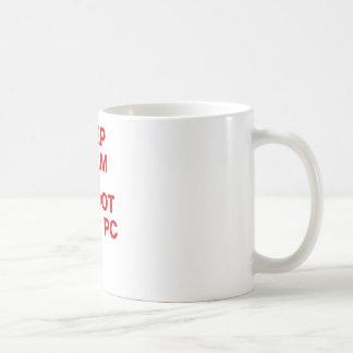 Keep Calm and Reboot your PC Coffee Mug