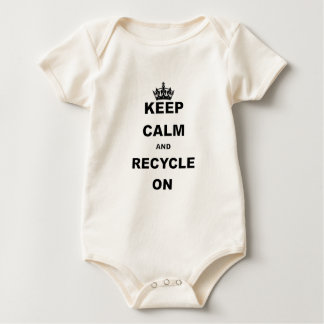 KEEP CALM AND RECYCLE.png Bodysuits