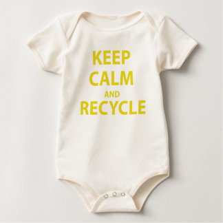 Keep Calm and Recycle Romper