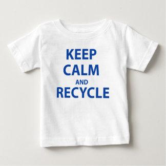 Keep Calm and Recycle Tee Shirts