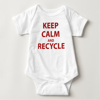 Keep Calm and Recycle T Shirts