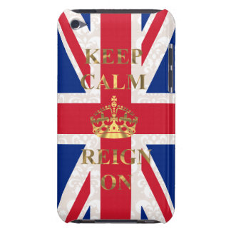 Keep calm and reign on Case-Mate iPod touch case