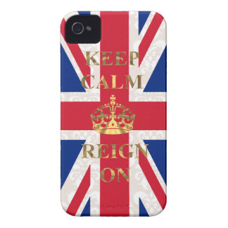 Keep calm and reign on iPhone 4 case