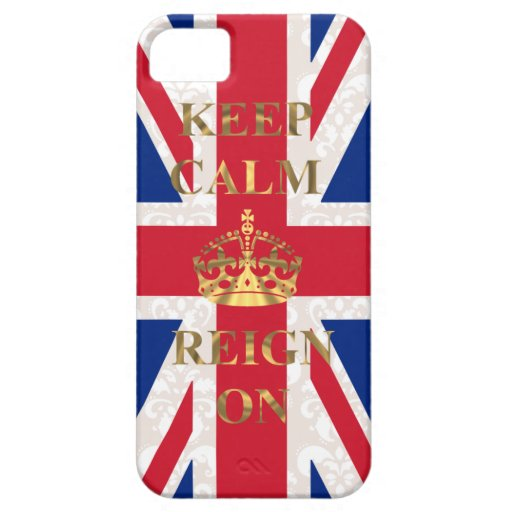 Keep calm and reign on iPhone 5 cases