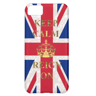 Keep calm and reign on iPhone 5C cover