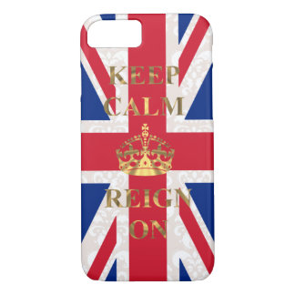 Keep calm and reign on iPhone 8/7 case