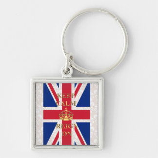 Keep calm and reign on key chains