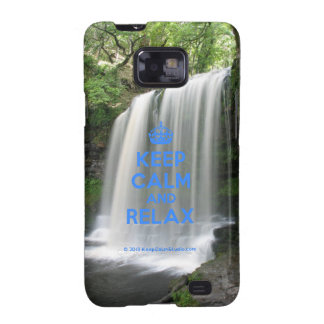 Keep Calm and Relax Samsung Galaxy SII Covers