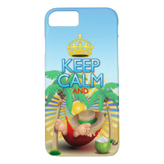 Keep Calm and...Relax on Hammock! iPhone 7 iPhone 8/7 Case