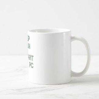 Keep Calm and Restart your PC Coffee Mug