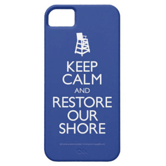Keep Calm and Restore The Shore iphone Case iPhone 5 Cover