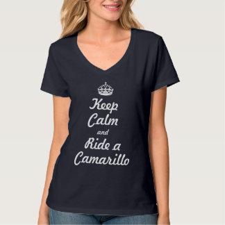 Keep calm and ride a Camarillo T-Shirt