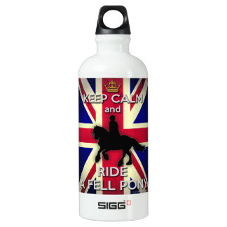 """""""Keep Calm and Ride a Fell Pony"""" Liberty Bottle"""