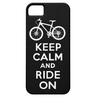 Keep Calm and Ride On black iPhone 5 iPhone 5 Cover