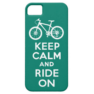 Keep Calm and Ride On black iPhone 5 iPhone 5 Covers