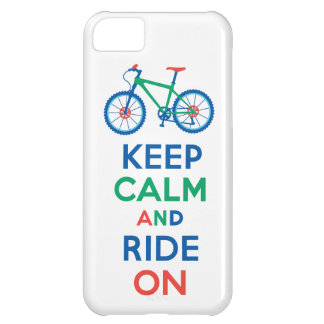 Keep Calm and Ride On multi iPhone 5 Cover For iPhone 5C