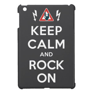 Keep Calm And Rock On Case For iPad Mini