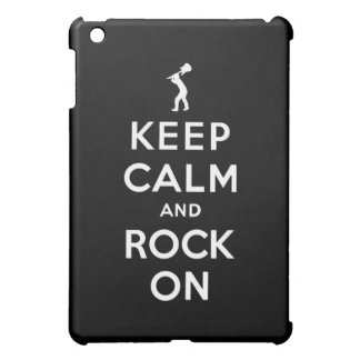 Keep calm and rock on cover for the iPad mini