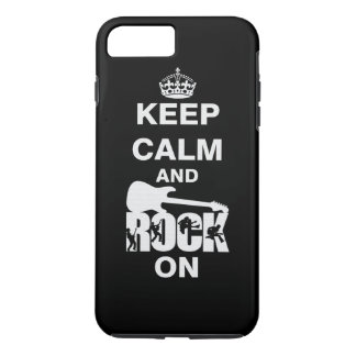 Keep Calm and Rock On iPhone 7 Plus Case