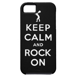 Keep calm and rock on iPhone SE/5/5s case