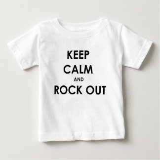 Keep calm and rock out! shirt