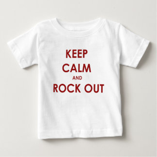 Keep calm and rock out! t-shirt
