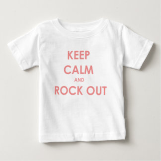 Keep calm and rock out t-shirt