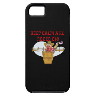 Keep Calm And Rodeo On 2 iPhone 5 Cases